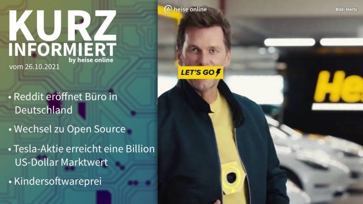 Briefly informed: Reddit, Open Source, Tesla, children's software price