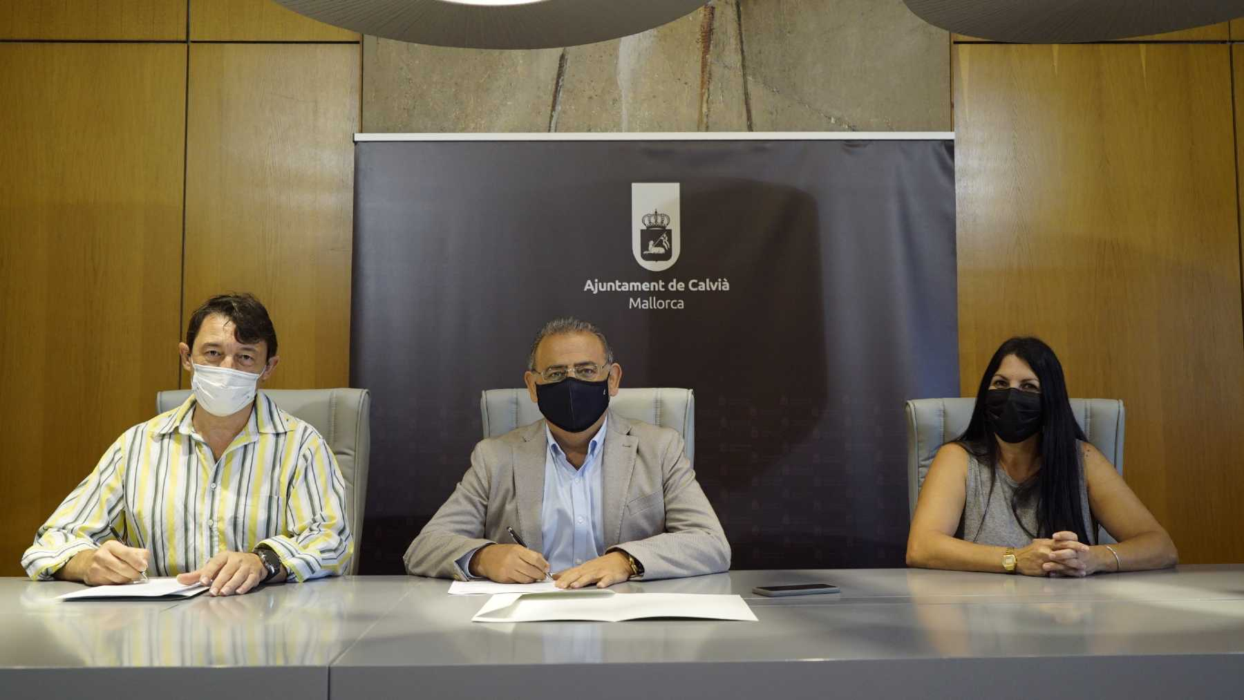 Calvià signs an agreement with hoteliers to promote the municipality in low season