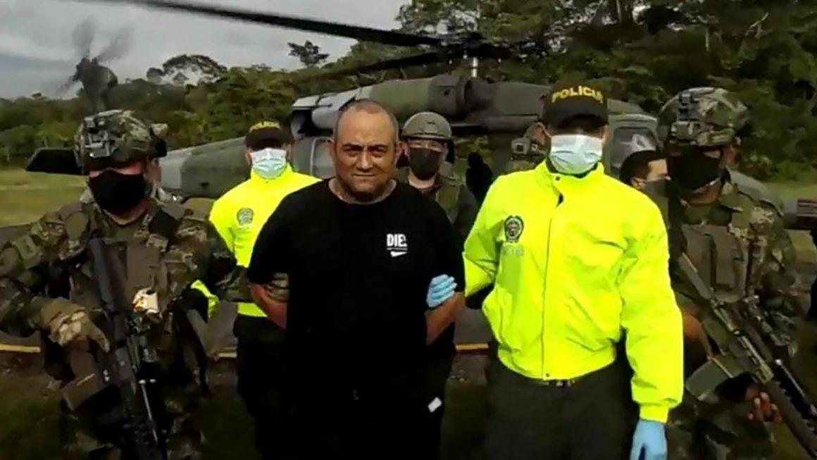 Captured Otoniel, leader of the largest drug trafficking gang in Colombia |  International