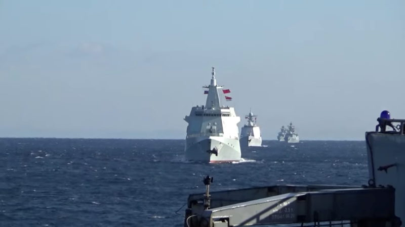China Exhibits Military Muscle to Extend Its Influence in the Pacific |  International