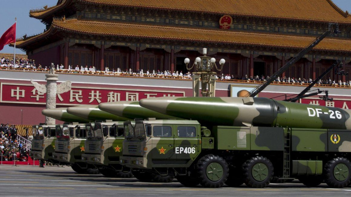China tested a hypersonic missile with nuclear capability in August according to the 'Financial Times'
