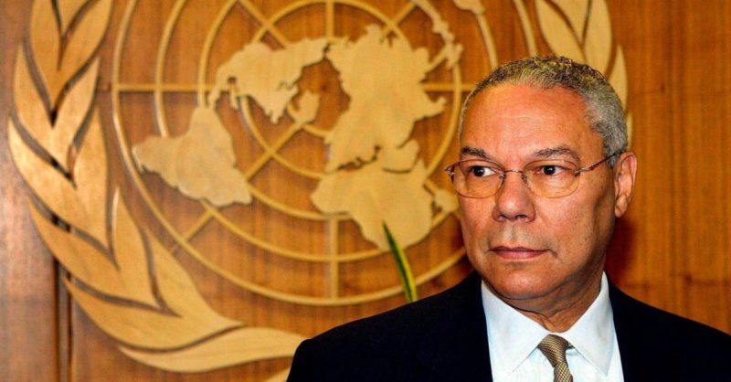 Colin Powell, former US Secretary of State, has died.