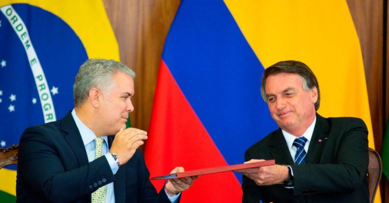 Colombia will complete 96 hours of diplomatic intensity with Brazil and the United States.