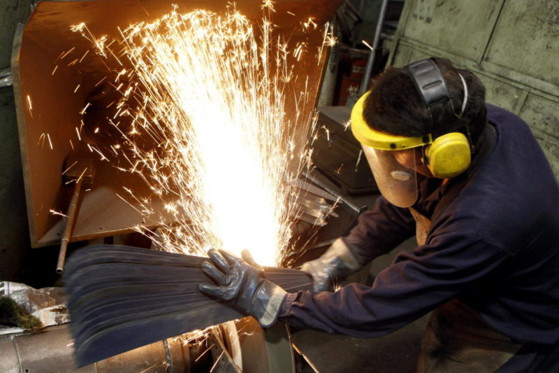 Colombia's Industrial Production in August was 15.5%