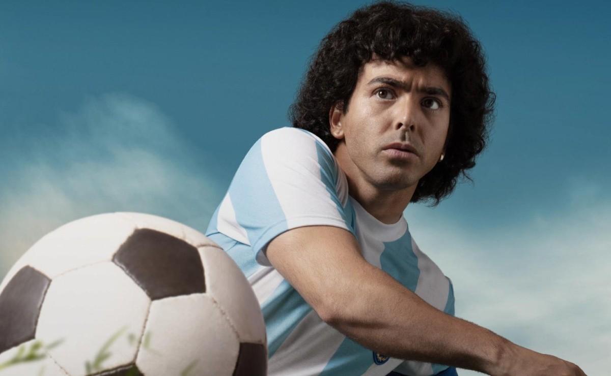 Diego Maradona's series on Amazon Prime