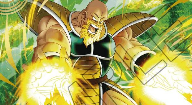 Dragon Ball Super: this is how Nappa would look in Super Saiyan 3 according to the card game.  (Photo: Dragon Ball Super Card Game)
