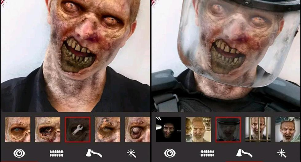 Android: how to turn your photos into a scary zombie for Halloween - MAG.