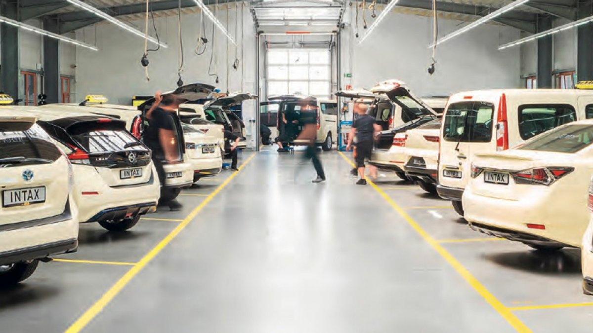 Federal eTaxi timetable: 80 percent of taxis are to be emission-free by 2030