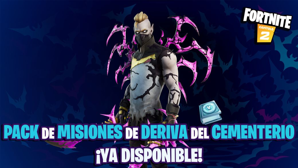 Fortnite: Graveyard Drift Mission Pack Now Available;  price and contents