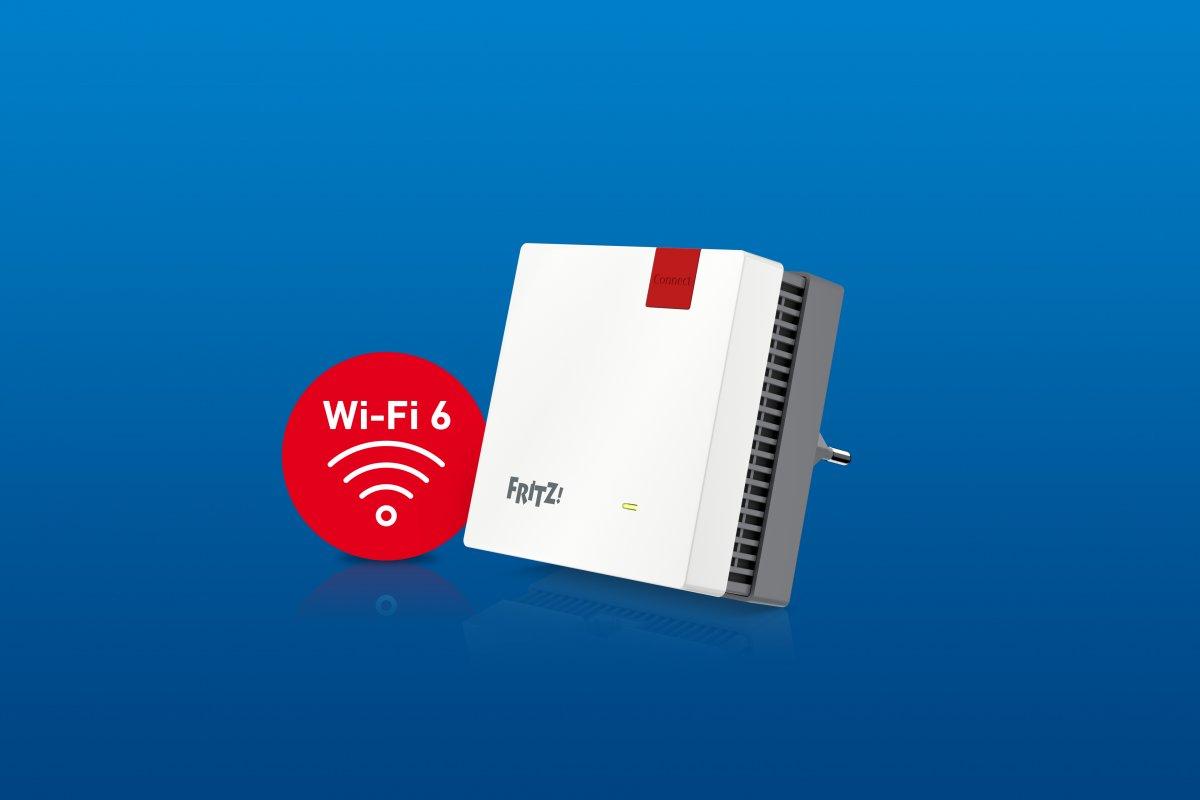 Fritz Repeater 1200AX: AVM donates mid-range WLAN repeater Wi-Fi 6