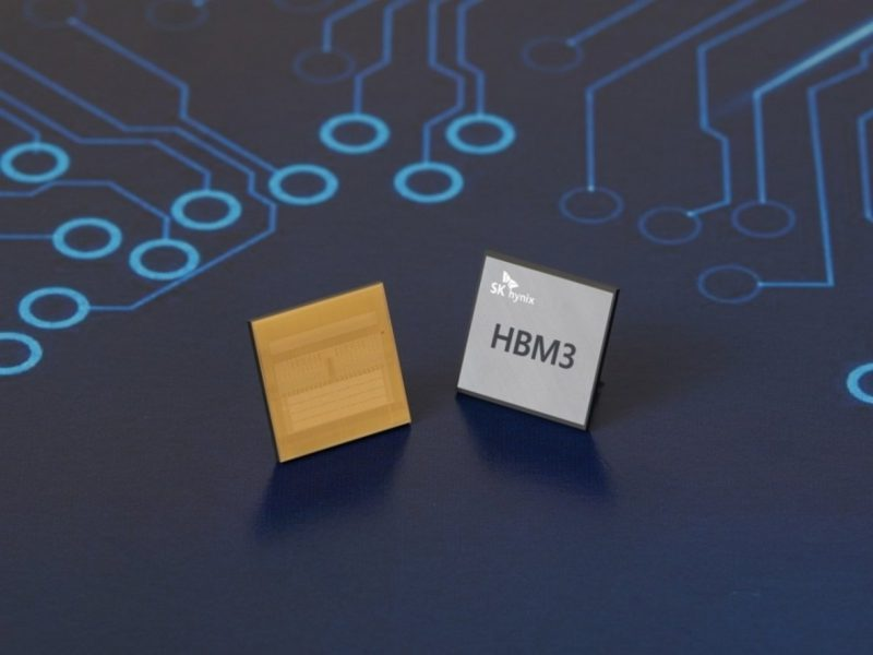HBM3 stack memory: Fastest DRAM for graphics cards and accelerators