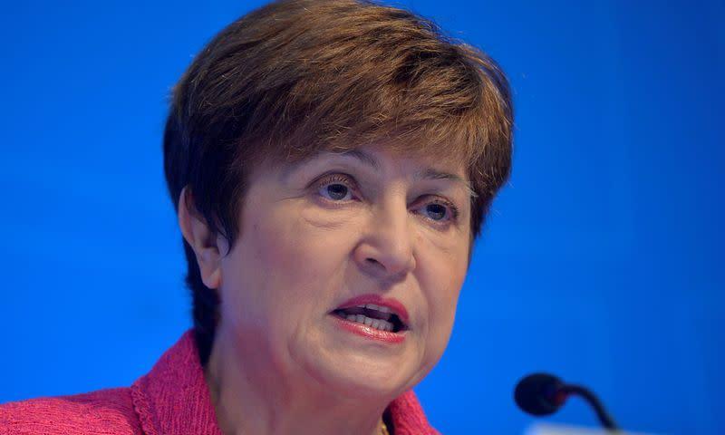 "IMF's Georgieva Says $ 100 Billion Reserves Lending Target ""Very Achievable"""