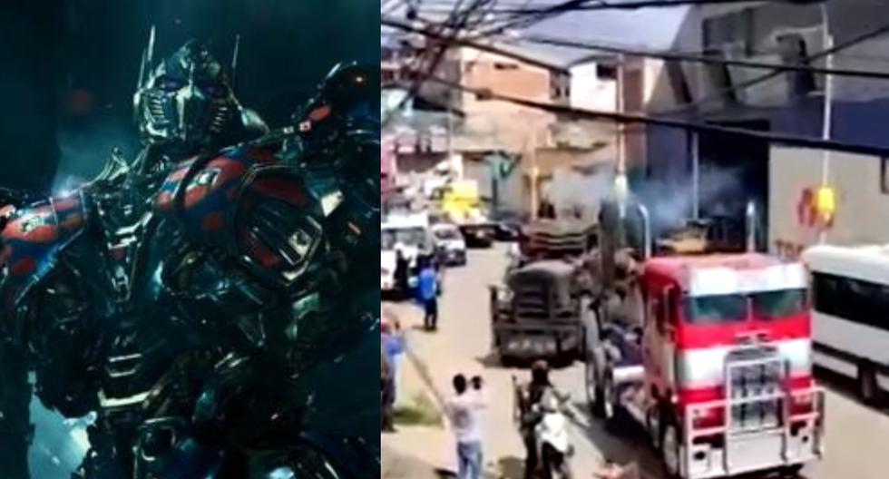 Transformers in Cusco: Vehicles underwent technical review, but one suffered mechanical failure - MAG.