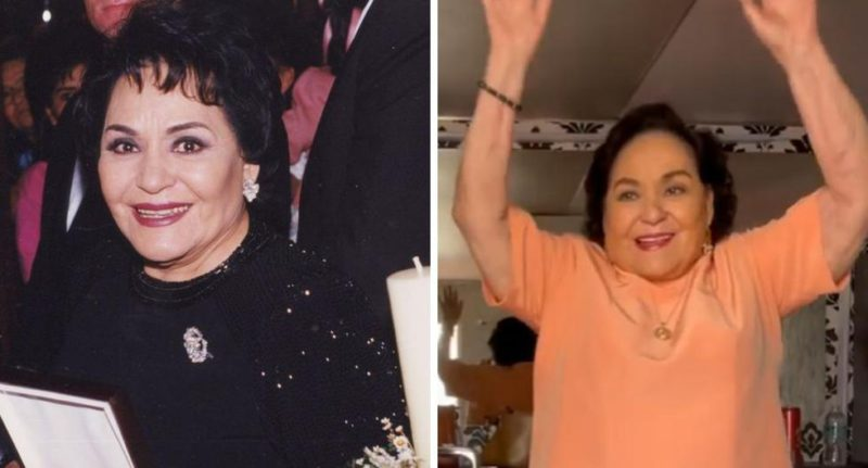 Carmen Salinas and her sensual dance that has caused a sensation on social networks |  VIDEO - The Trade