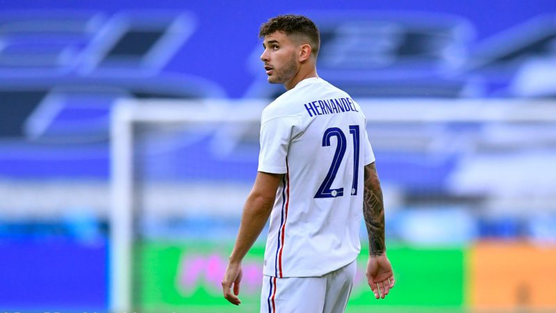 Lucas Hernández asks the Hearing to suspend his admission to prison until the appeal is resolved