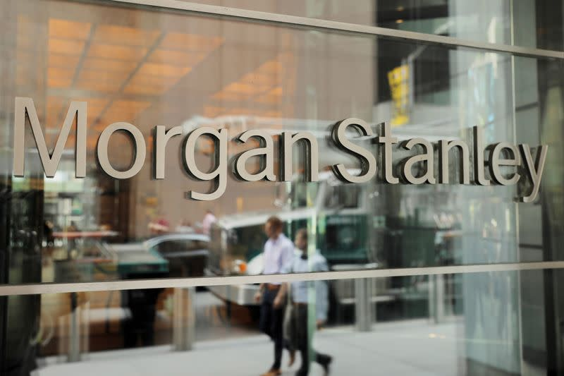Morgan Stanley earnings beat estimates, merger management profit hits record