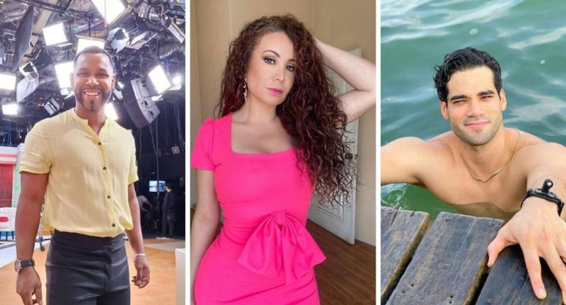 Janet Barboza tries to flirt with Guty Carrera and 'Giselo' reminds her that it may be her grandson - MAG.
