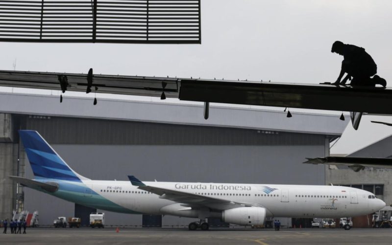 National airline Garuda Indonesia is on the brink of bankruptcy