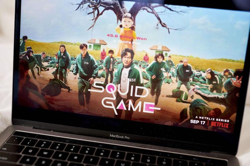 Netflix wins the streaming 'Squid Game': T. Lachapelle