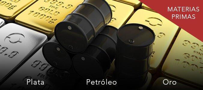 Petróleo, Oro y Plata. Niveles y zonas interesantes para trading de corto plazo. Scalping materias primas