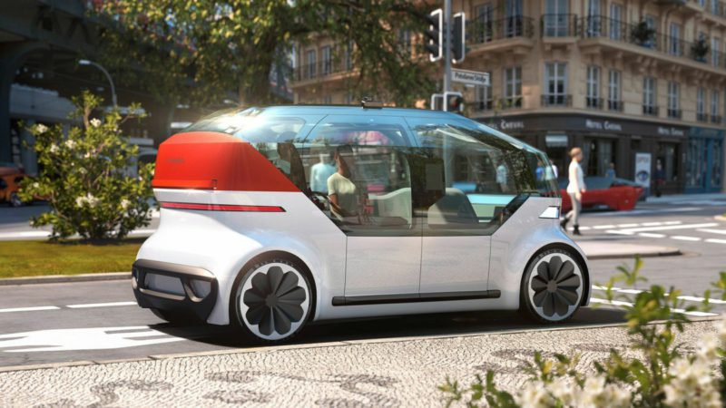 """OnePod concept car: This is how Volkswagen envisions """"mobility as a service"""""""
