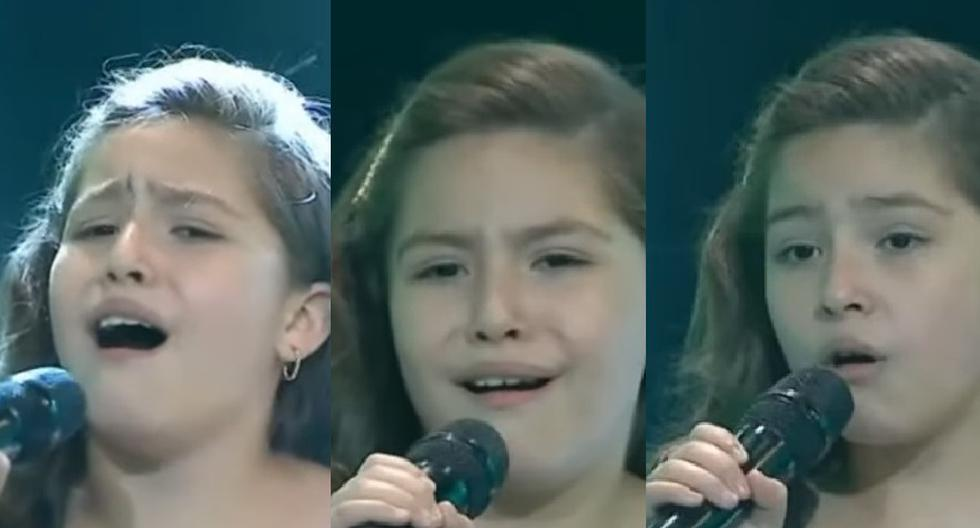 """""""La voz Kids"""": Little moved coaches after telling that she sang for her father who died from Covid-19 - MAG."""