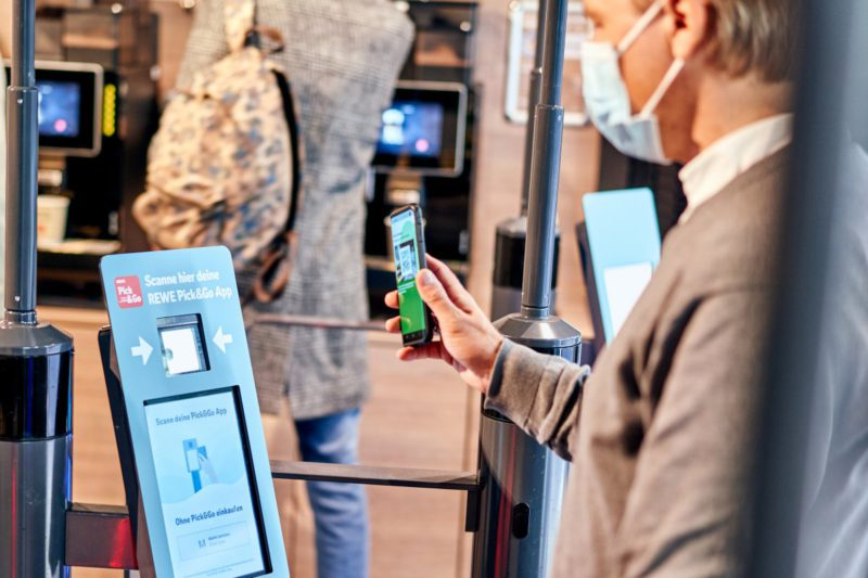 Pick & Go: Rewe enables cashless shopping in the supermarket