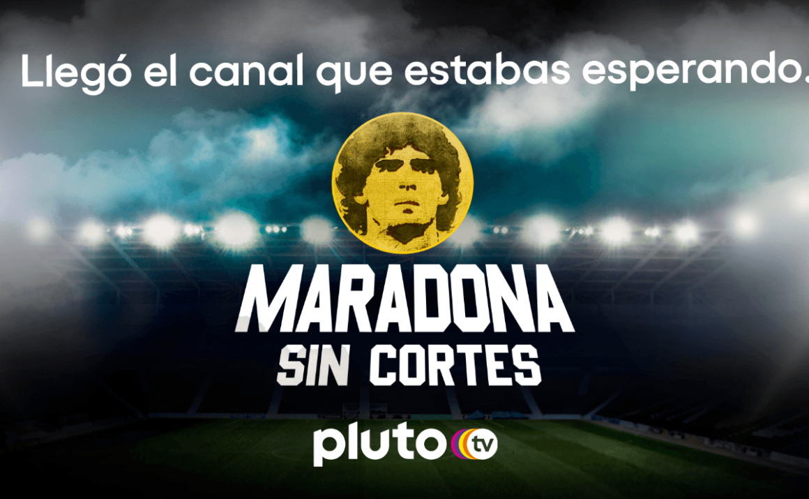 Pluto TV launches an exclusive channel about Diego Maradona