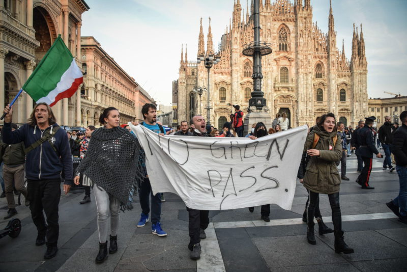Protests against the covid certificate deflate in Italy    International