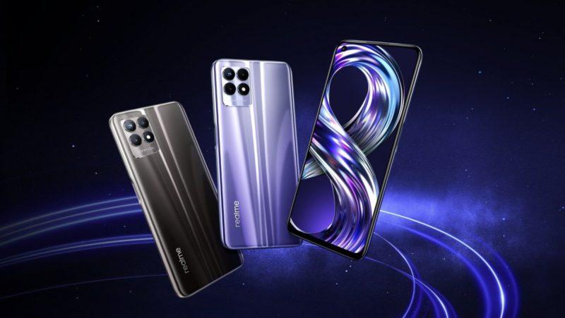Realme 8i: smartphone with 120 Hz display for 200 euros