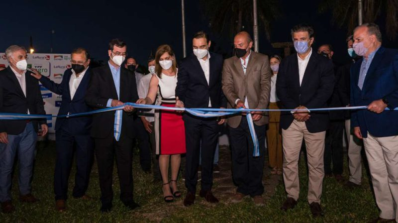Ribbon cutting in Corrientes: the National Dog Show was officially inaugurated