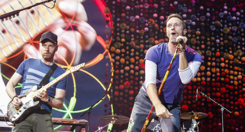 """Coldplay premiered """"Music of the Spheres"""" and announced a """"sustainable"""" world tour for the year 2022 - MAG."""