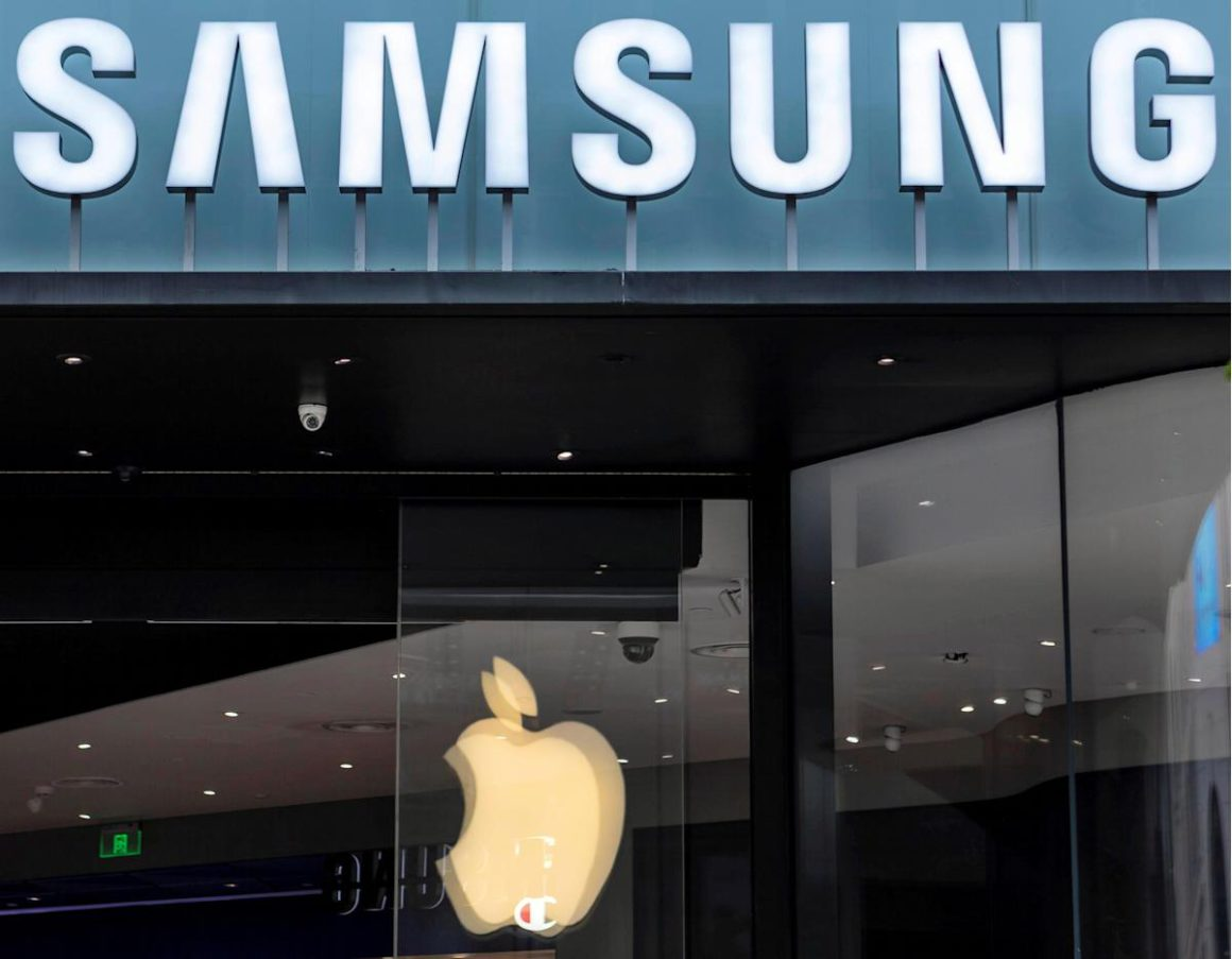 Samsung gained 31.3% more in the third quarter