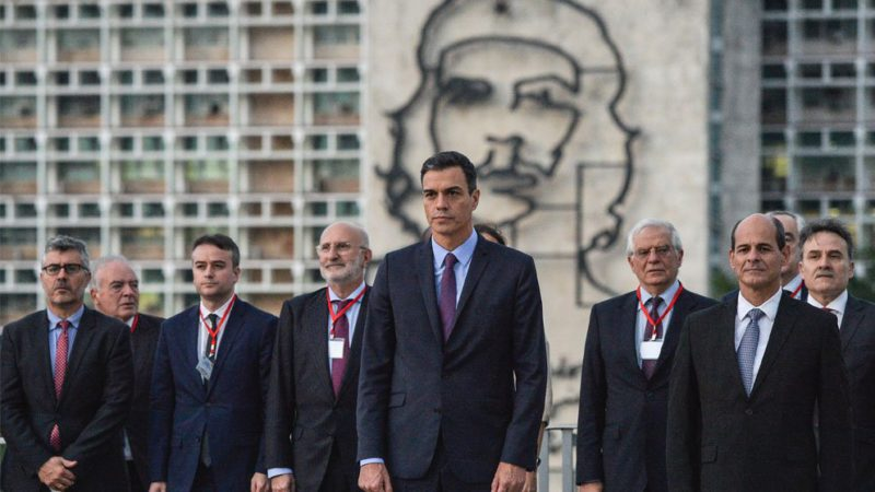 Sánchez postpones 'sine die' the collection of the 2,150 million that Cuba and Venezuela owe to Spain