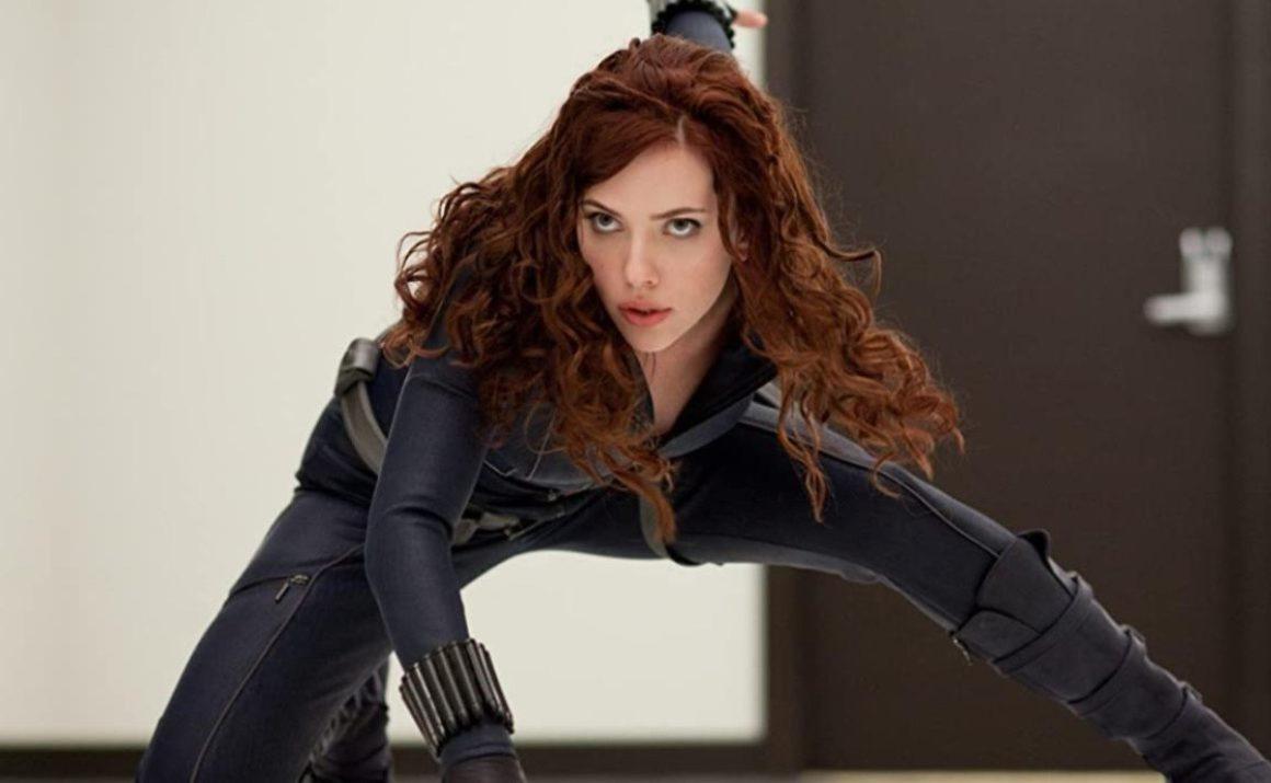 Scarlett Johnasson's most iconic scene as Black Widow in Marvel