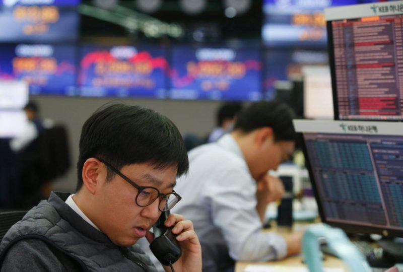Seoul stock market falls 0.19% on inflation fears