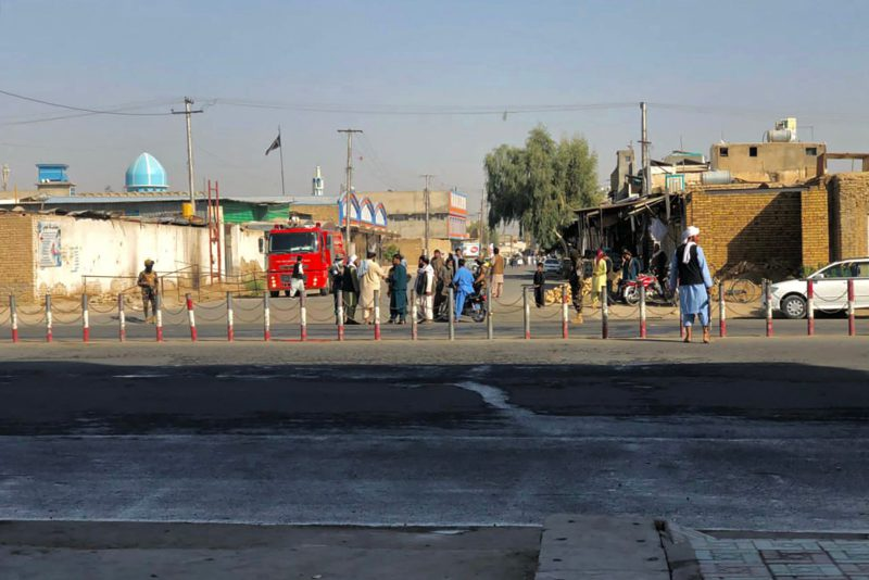 Several explosions at a Shiite mosque in Afghanistan kill at least 16 |  International