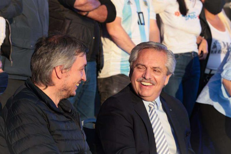 Sign of unity and message to the IMF: Alberto Fernández leads an act of tribute to Néstor Kirchner promoted by La Cámpora