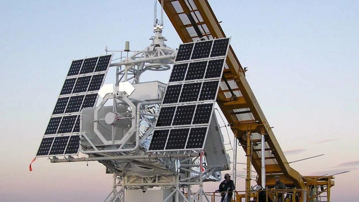 Solar observatory hovers over Göttingen