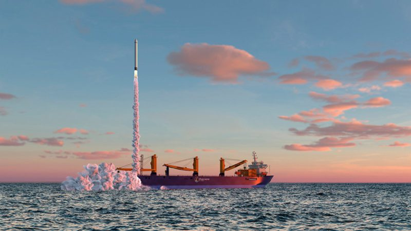 Space travel: From 2023 rockets are to be launched from the North Sea into space