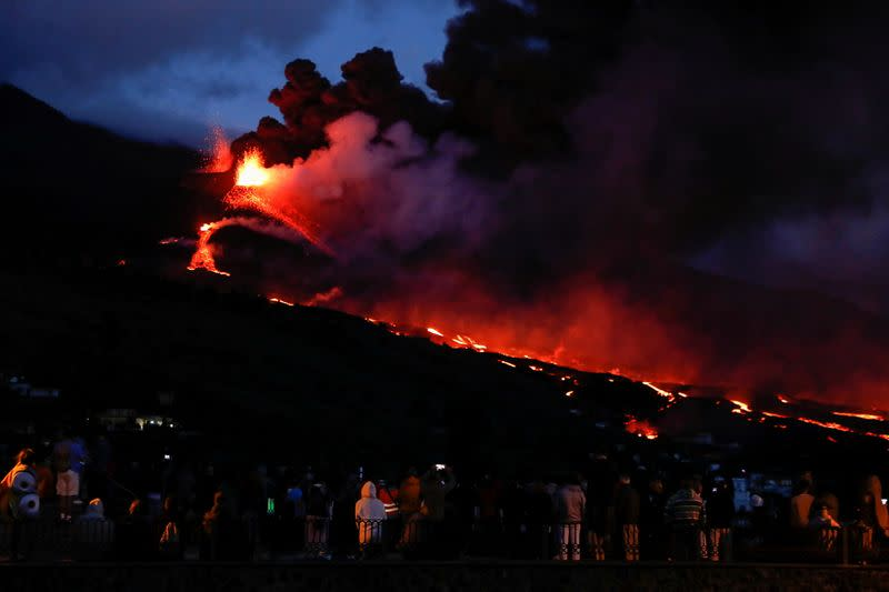 Spain agrees to speed up aid for La Palma, affected by the volcano