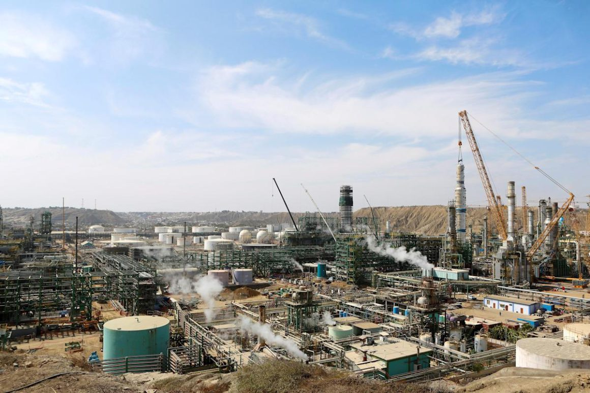 Talara refinery, in northern Peru, will enter into operation in April 2022