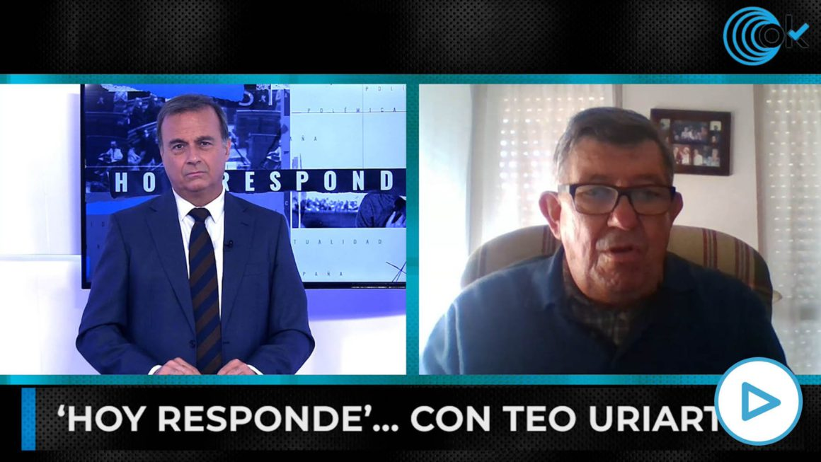 """Teo Uriarte: """"Sánchez legitimizes ETA by despising the blood of the victims and making a pact with Otegi"""""""