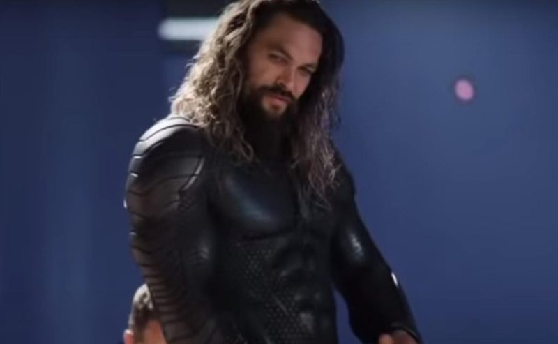 The behind the scenes of Aquaman that excited his fans