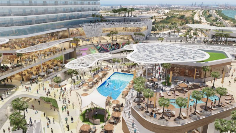 The developer AQ Acentor will spend 350 million on a leisure, office and hotel complex in Valencia