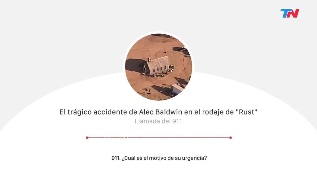 """The heartbreaking 911 call after Alec Baldwin's accident while filming """"Rust"""""""