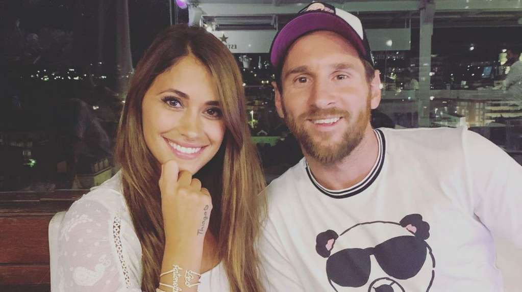 The romantic round trip between Lionel Messi and Antonela Roccuzzo in the networks: photo and love messages