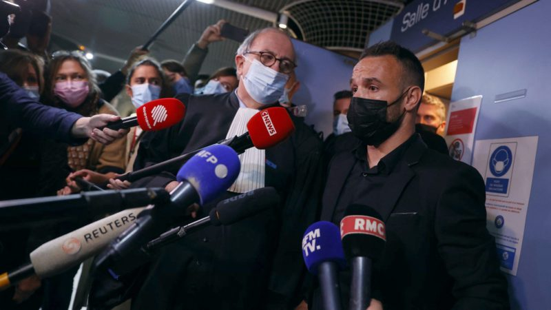 The trial of the 'Valbuena case' begins without the presence of Benzema