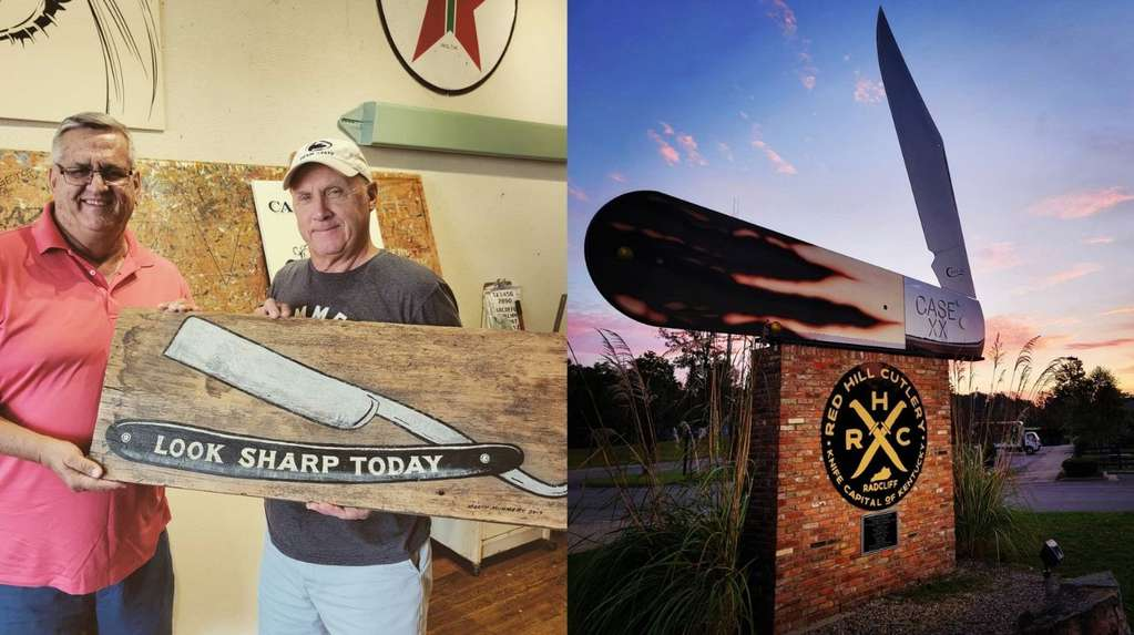 """The world's largest """"pocket"""" knife is 10 meters long and is a Guinness record"""