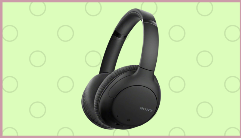 These Sony noise canceling headphones are super discounted at 60%, but only for today